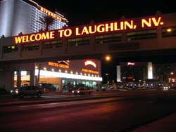 Welcome to Laughlin.  Now go home.