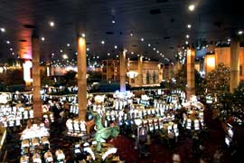 Shooter's view from NY NY Casino